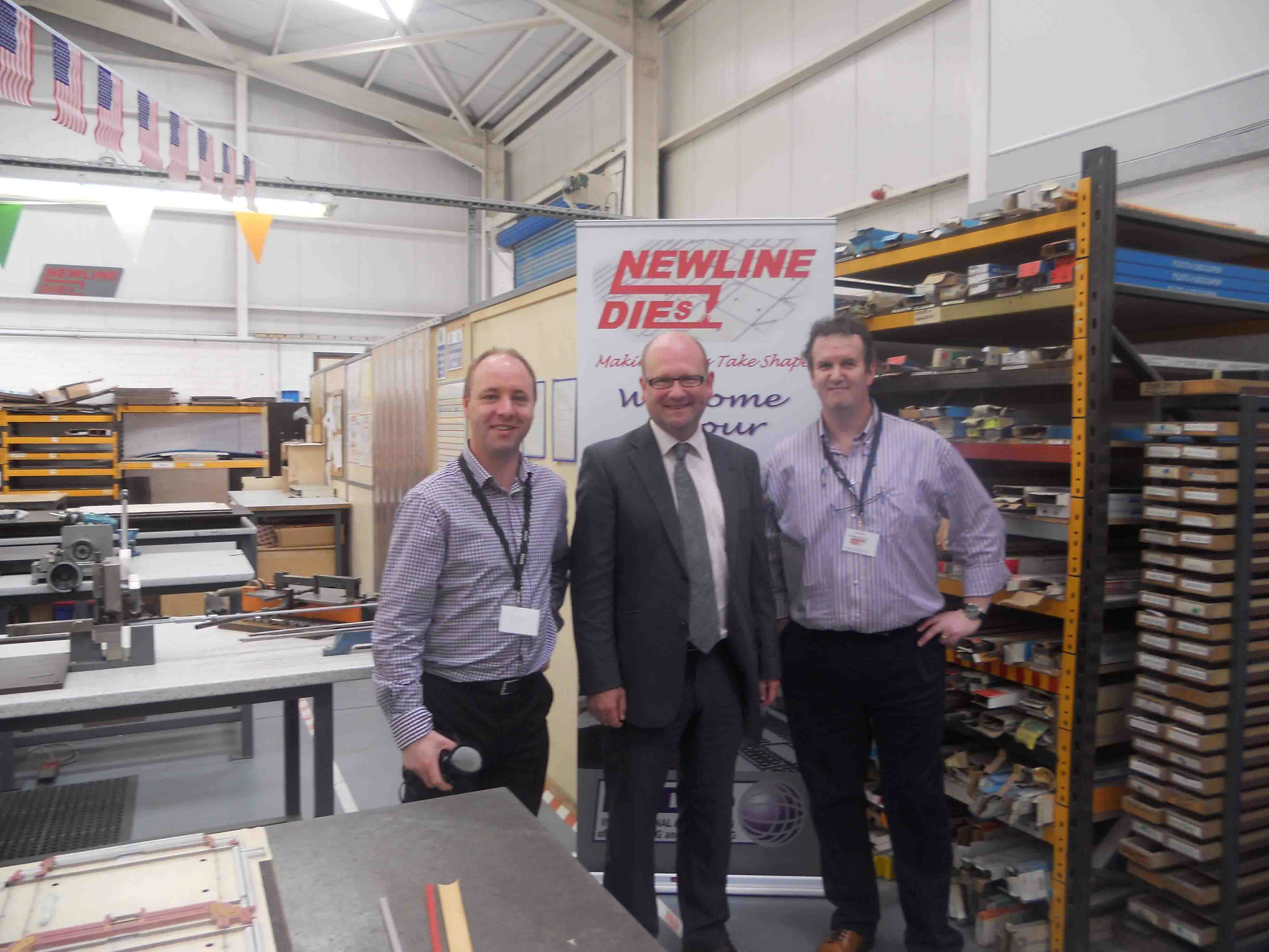 Geoff McQuillan, Paul Hand with Gerald Nash TD