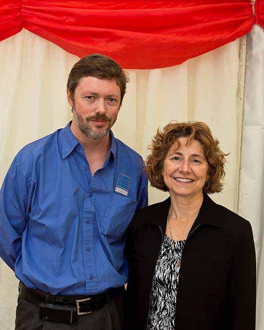 Andrew Carey IADD President & Cindy Crouse IADD CEO