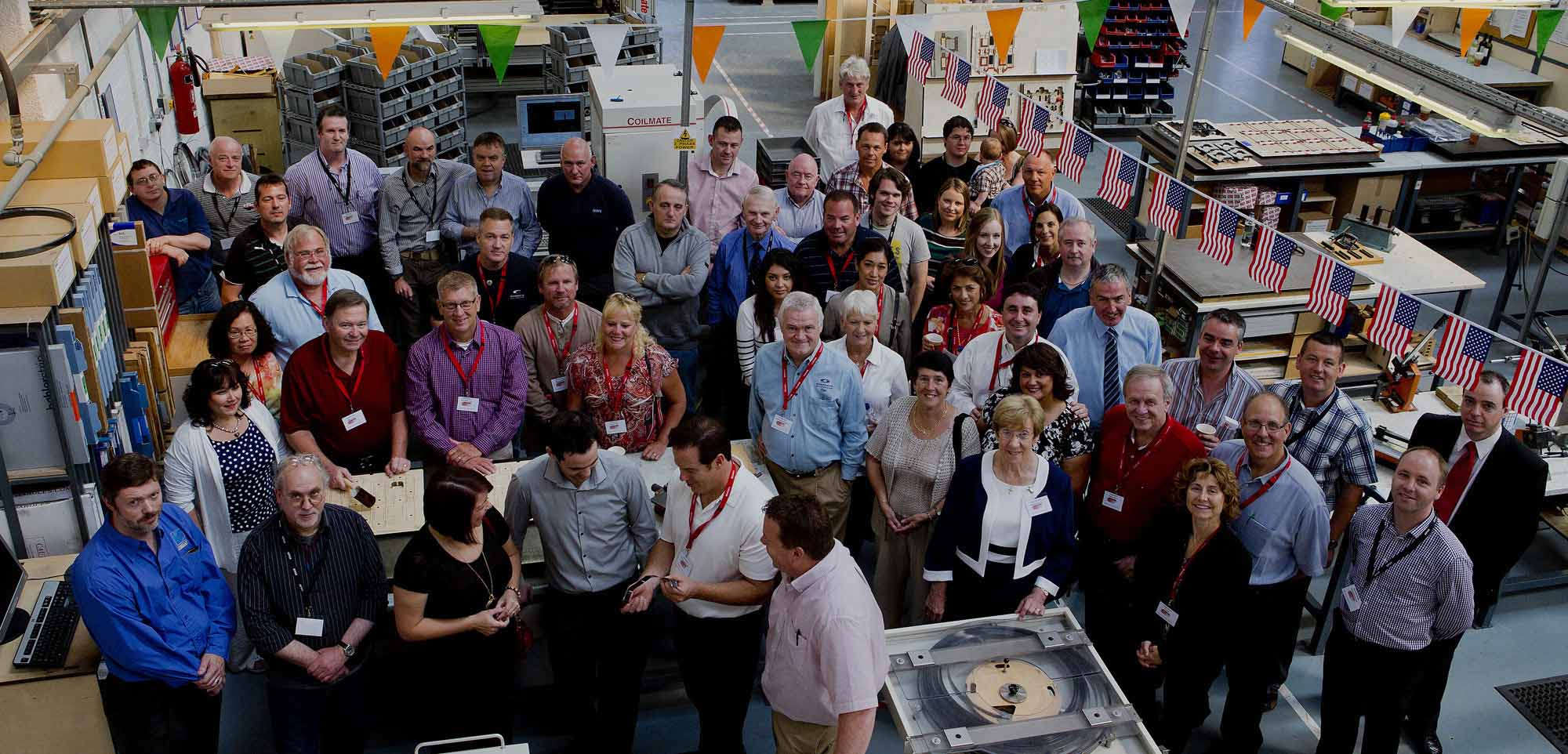Open Day group photo
